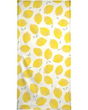 Lemon handdoek