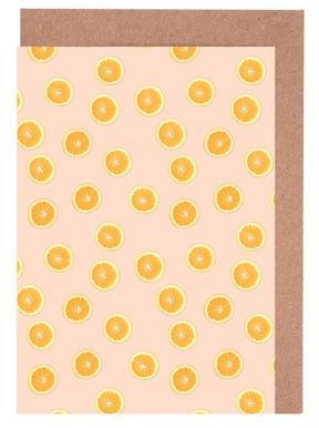 Oranges Greeting Card Set