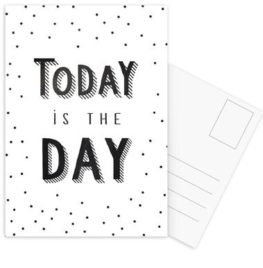 Today Is The Day -Postkartenset