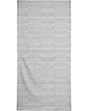 Watercolor Stripes Bath Towel
