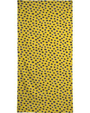 Blueberry Dots strandlaken