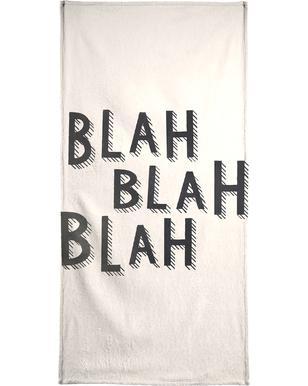 Blah Blah Blah Bath Towel
