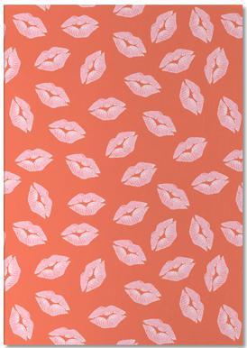 Kisses -Notizblock