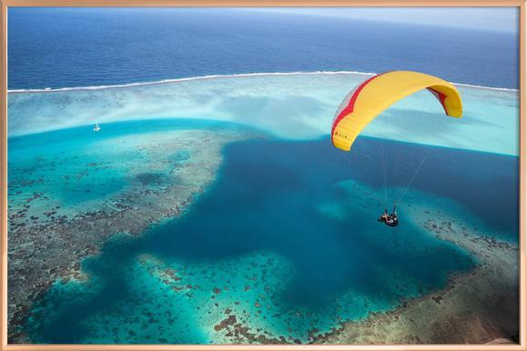 Paragliding French Polynesia