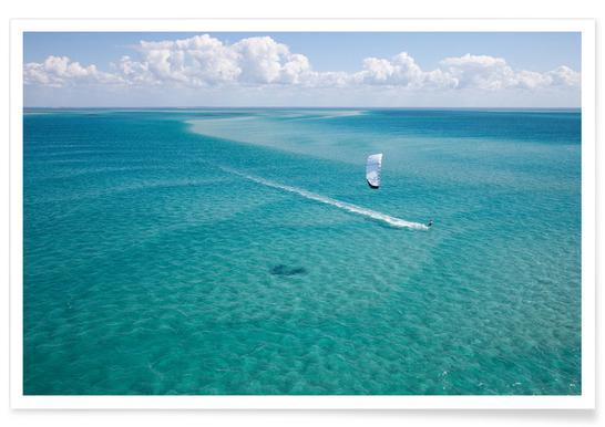 Kiteboarding Mozambique affiche