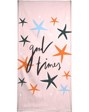 Good Times Beach Towel