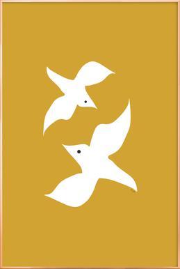 Birds in Mustard