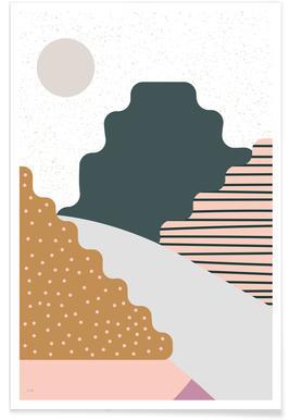Mountain affiche