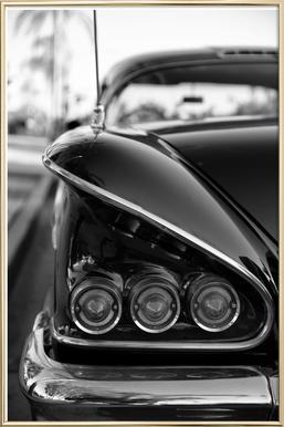 58 Chevrolet Impala -Poster im Alurahmen