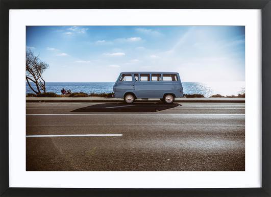 Pacific Ocean Blue Framed Print