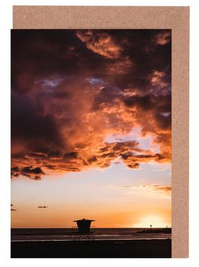 Pacific Sunset Greeting Card Set