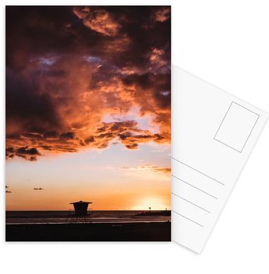 Pacific Sunset -Postkartenset