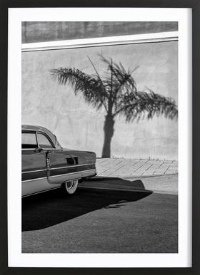 Packard Minimal ingelijste print