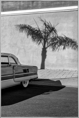 Packard Minimal poster in aluminium lijst