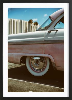 Pink Fairlane Framed Print