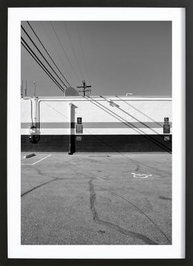 Leucadia Post Offfice Framed Print