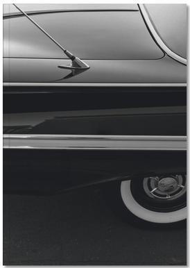 Black Impala -Notizheft