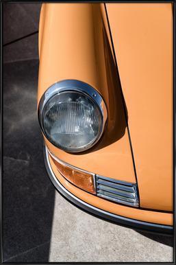 Porsche 911 - Poster in kunststof lijst