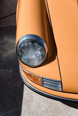 Porsche 911 tableau en verre