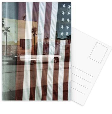 American Reflection -Postkartenset