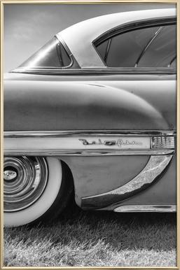 Bel Air poster in aluminium lijst