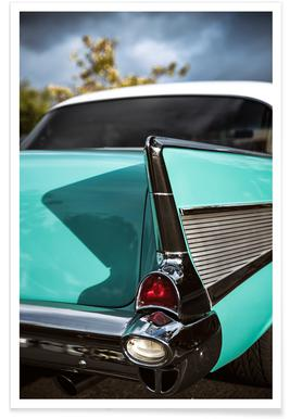 Bel Air Car Photograph Poster