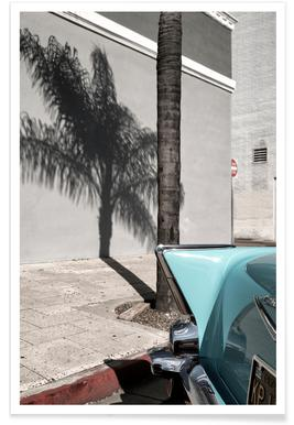 Bel Air Turquoise Photograph Poster