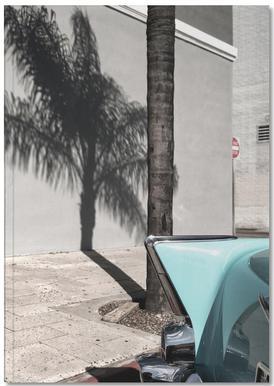 Bel Air Turquoise -Notizheft