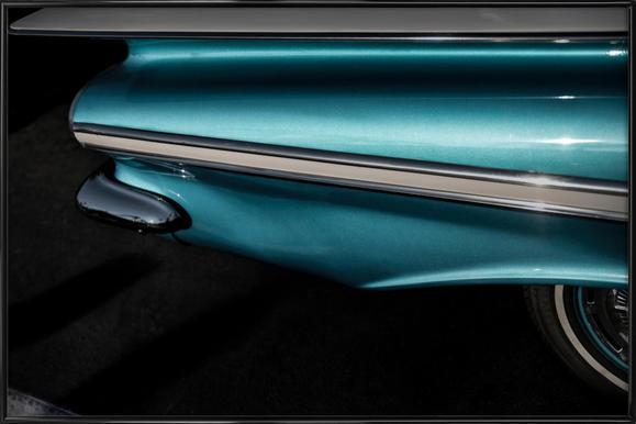 Impala Turquoise Framed Poster