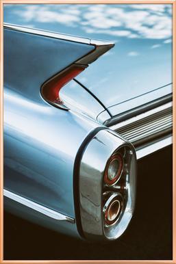 Cadillac Sky -Poster im Alurahmen