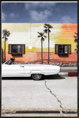 Ford Thunderbird - Affiche sous cadre standard