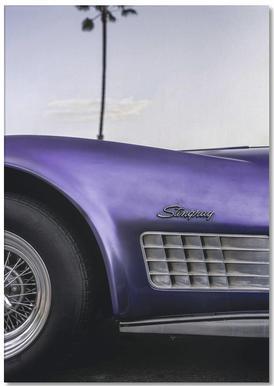 Cali Purple Notepad