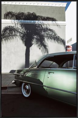 California Ford -Bild mit Kunststoffrahmen