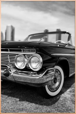 San Diego Impala -Poster im Alurahmen