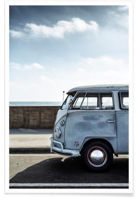 Wolfsburg Surf Blue -Poster