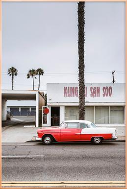 Kung Fu Bel Air Plakat i aluminiumsramme