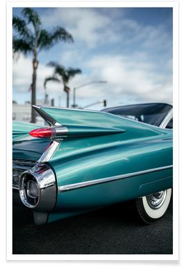 Cadillac Queen Poster