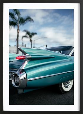 Cadillac Queen Framed Print
