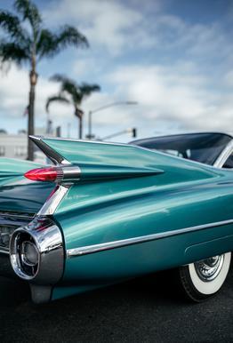 Cadillac Queen Aluminium Print