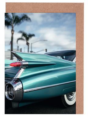 Cadillac Queen wenskaartenset