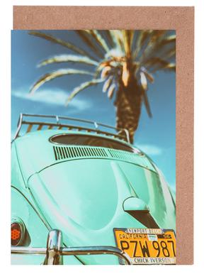 California Turquoise Greeting Card Set