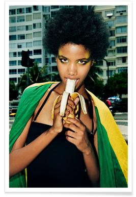 Brazil 5 - Bjarke Johansen - Premium Poster