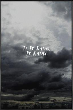 If It Rains Framed Poster