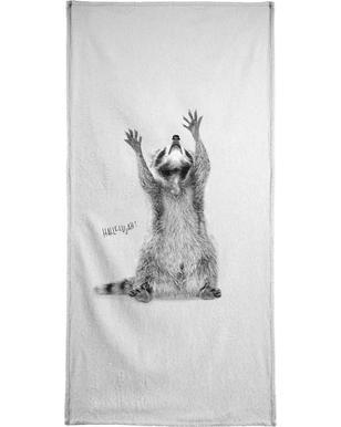 Racoon -Handtuch