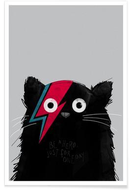Cat Hero Poster