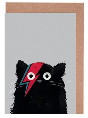 Cat Hero Greeting Card Set