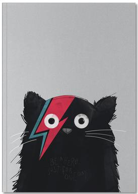 Cat Hero Notebook