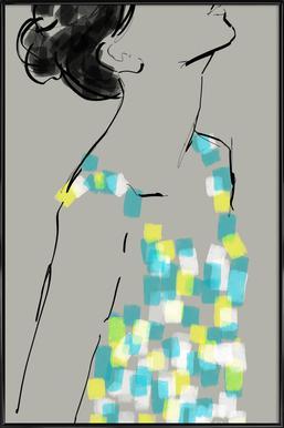New Dress Framed Poster