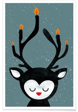 Deer Candle -Poster