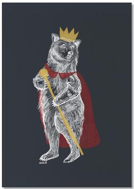 King Bear Notebook